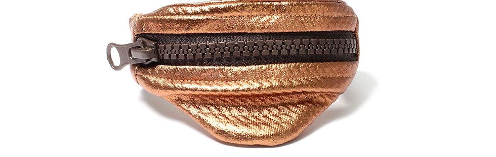 Gelenktasche  Kupferfarbige  Gelenk Tasche - hannisch