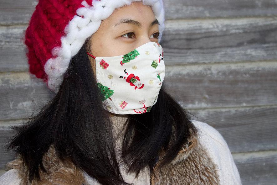 Kinder Weihnachtsmann Maske- hannisch
