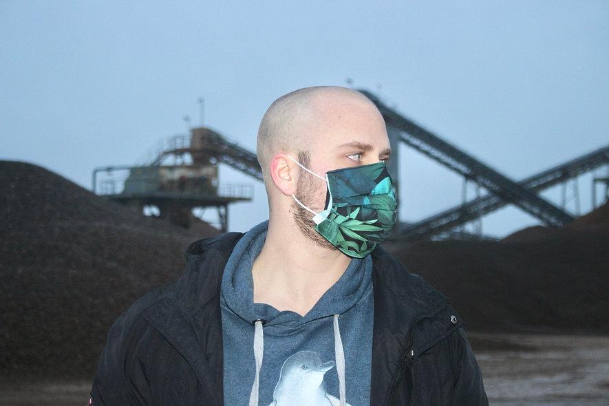 Dschungel Baumwolle OP- Masken Überzieher- hannisch