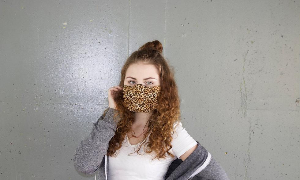 Leo Baumwolle Flap Maske- hannisch