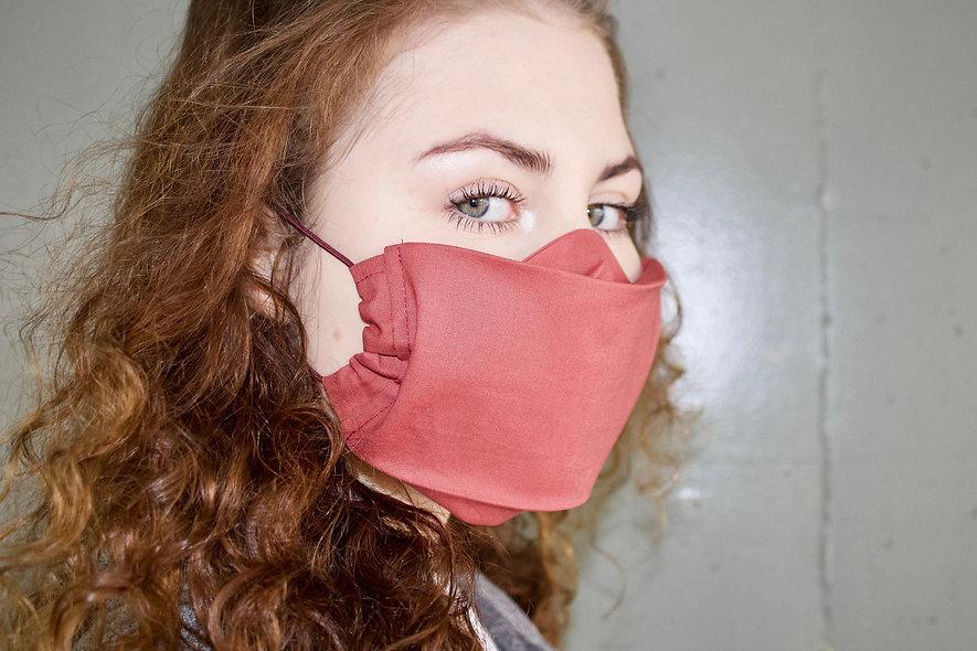 Rost Baumwolle Flap Maske- hannisch