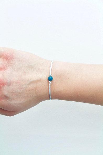 Kordel Malaysia Jade Armband/Fußkette