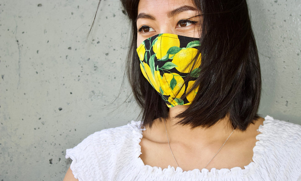Zitronen Maske- hannisch