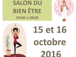 Salon du Bien-Être à Vitré les 15 et 16 octobre 2016!