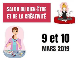 Venez en ce 9 et 10 mars au Salon du Bien-être et de la Créativité à Pocé Les Bois!