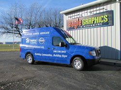 Habitat for Humanity Van Wrap