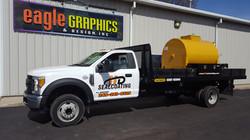 Truck Lettering HD Sealcoating