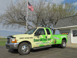 Truck Wrap Dually Emerald Tree Care