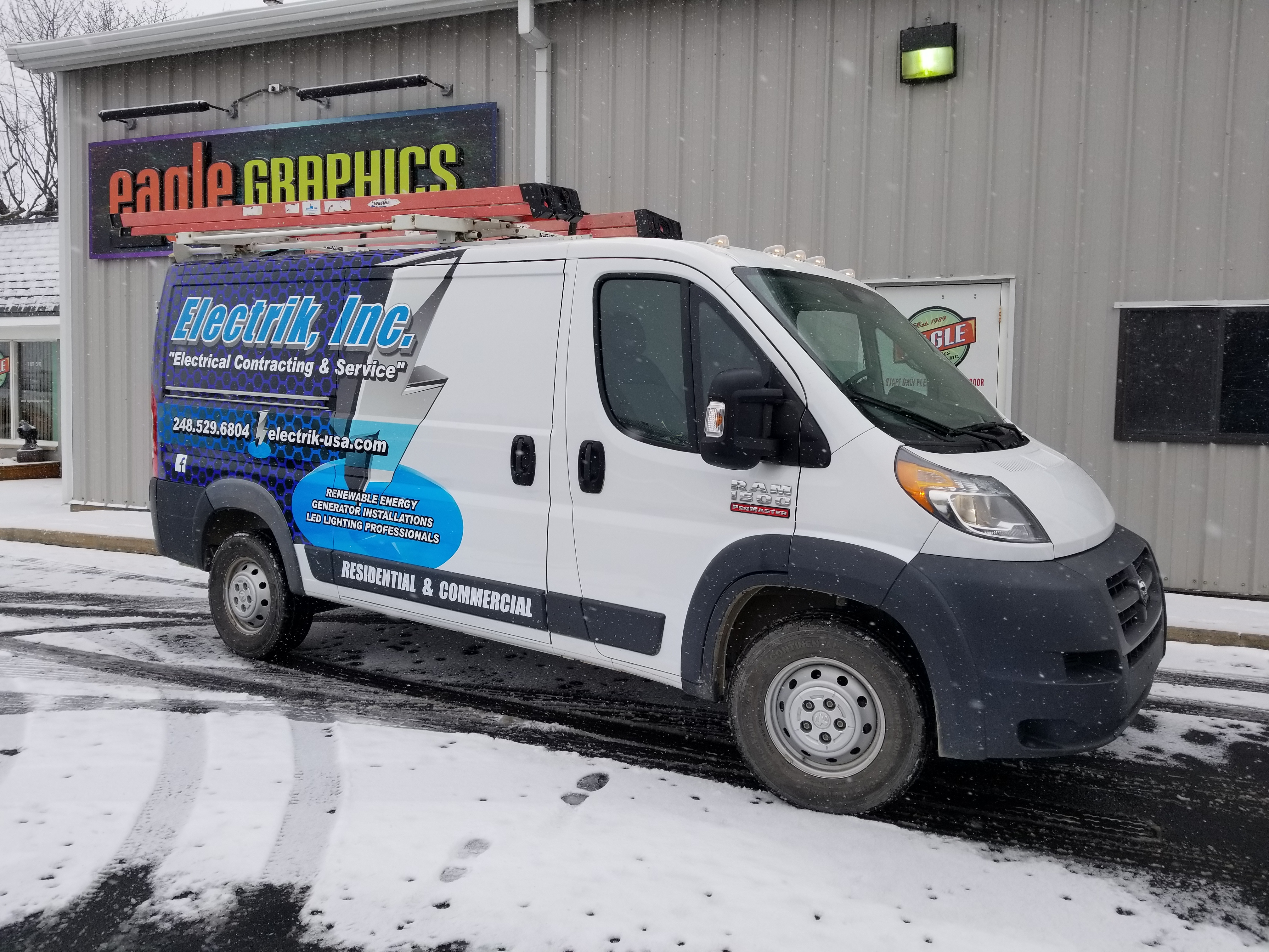 3M Wrap Electrik Inc Promaster