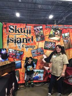 Trade Show Back Drop Skull Island