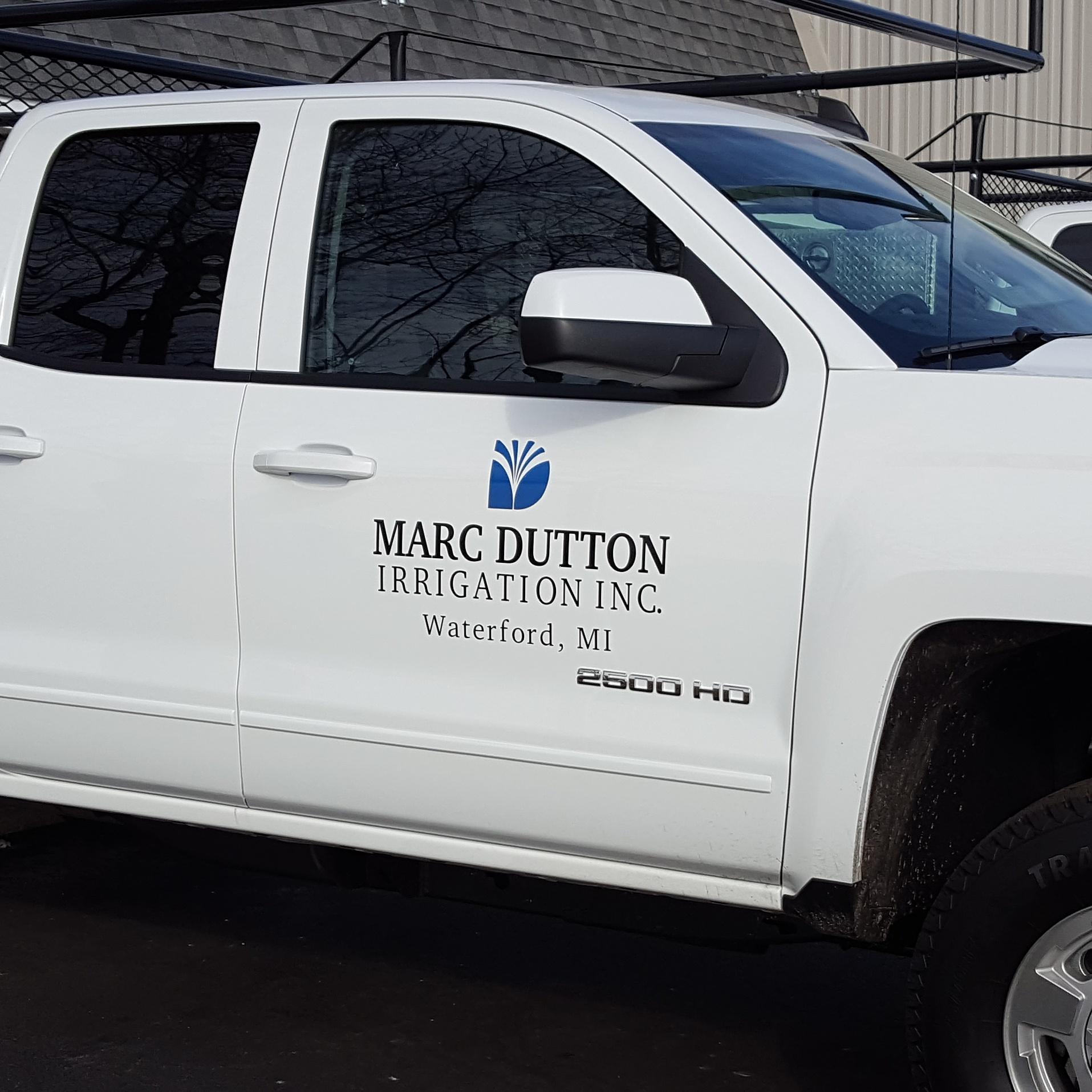 Marc Dutton Truck Lettering