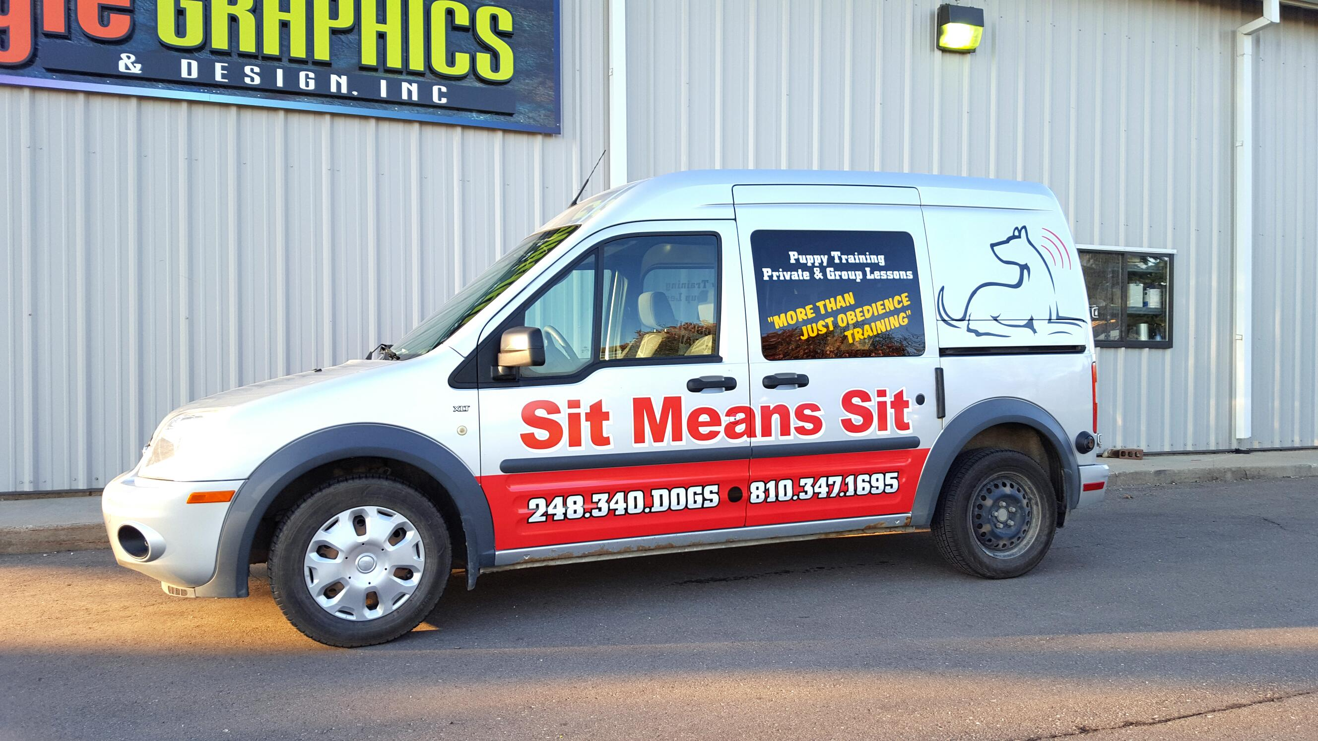 Partial Wrap Sit Means Sit Van