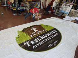 Tree Runner Vinyl Roof Logo