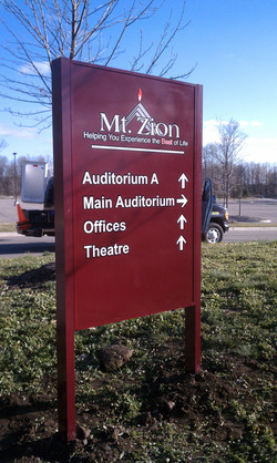 Mt. Zion Directional Signs