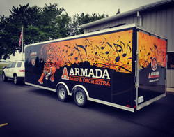Trailer Wrap Armada Band & Orchestra