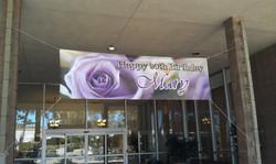 Custom Printed Birthday Banner
