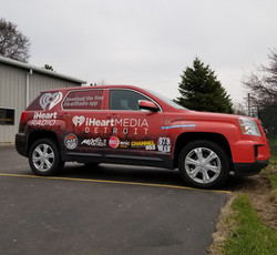Station Logos Wrap for Iheart Media