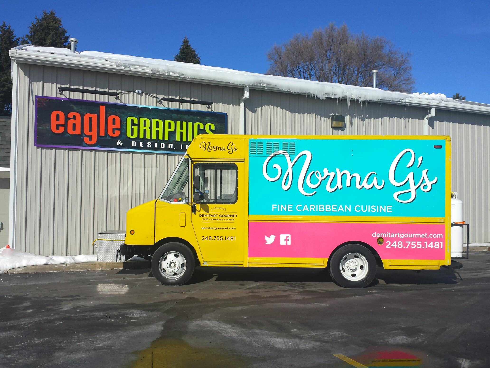 Food Truck Wrap Norma G's