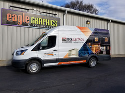 Generac Partial Wrap Rock Electrical