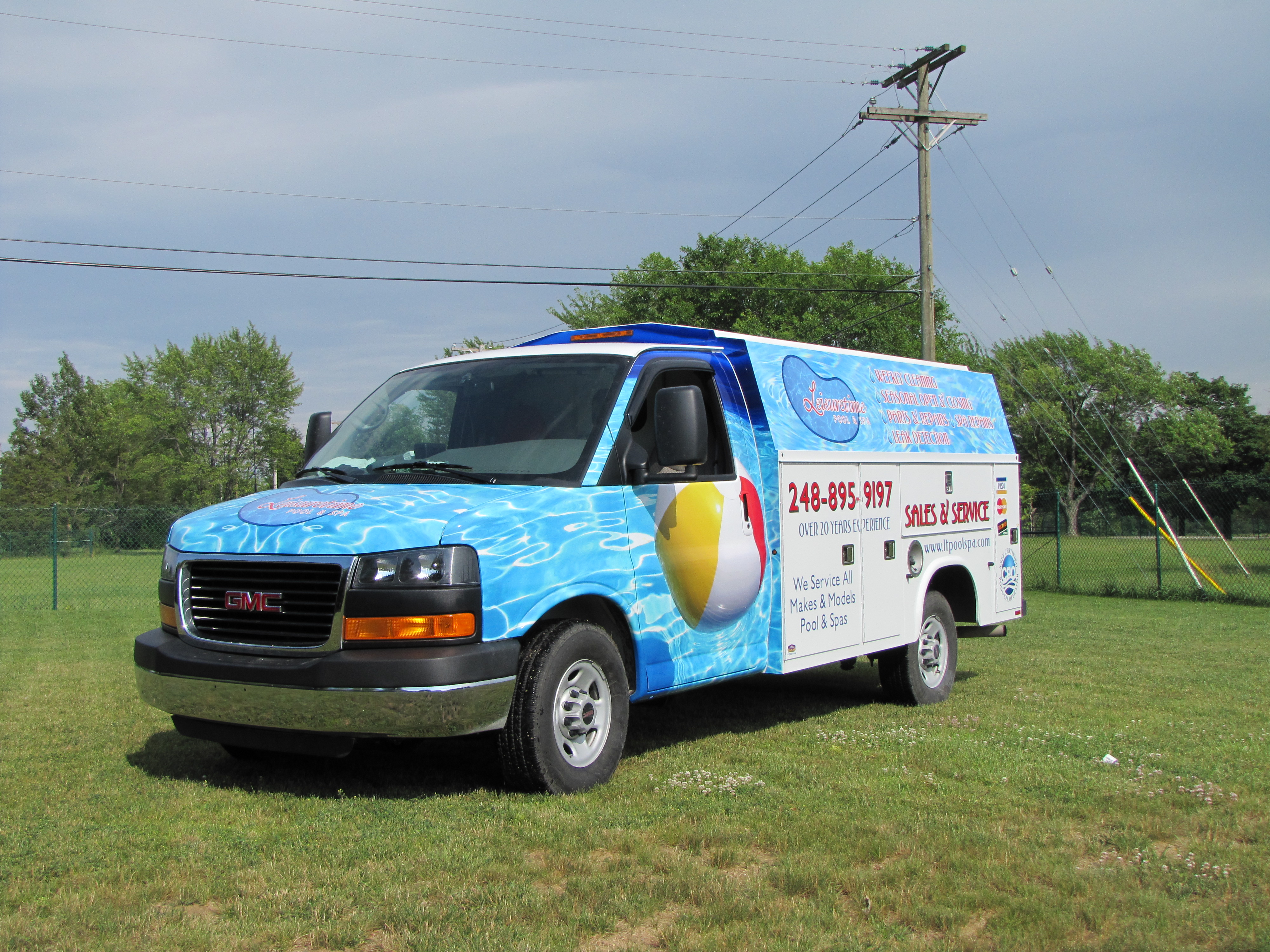 Utility Van Wrap Tool Box van wrap