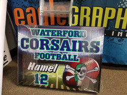 Waterford Corsairs Player Team Signs