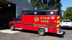 Star EMS Gold Lettering