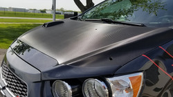 Avery Carbon Fiber Hood Wrap