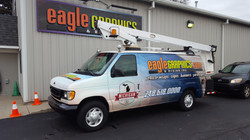 Eagle Graphics Van Wrap