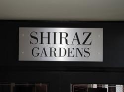 Shiraz Gardens CNC Routed Sign