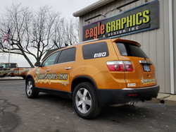 GMC Acadia Avery Paint Wrap