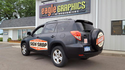 Color Change Wrap RAV4 Eagle Graphic