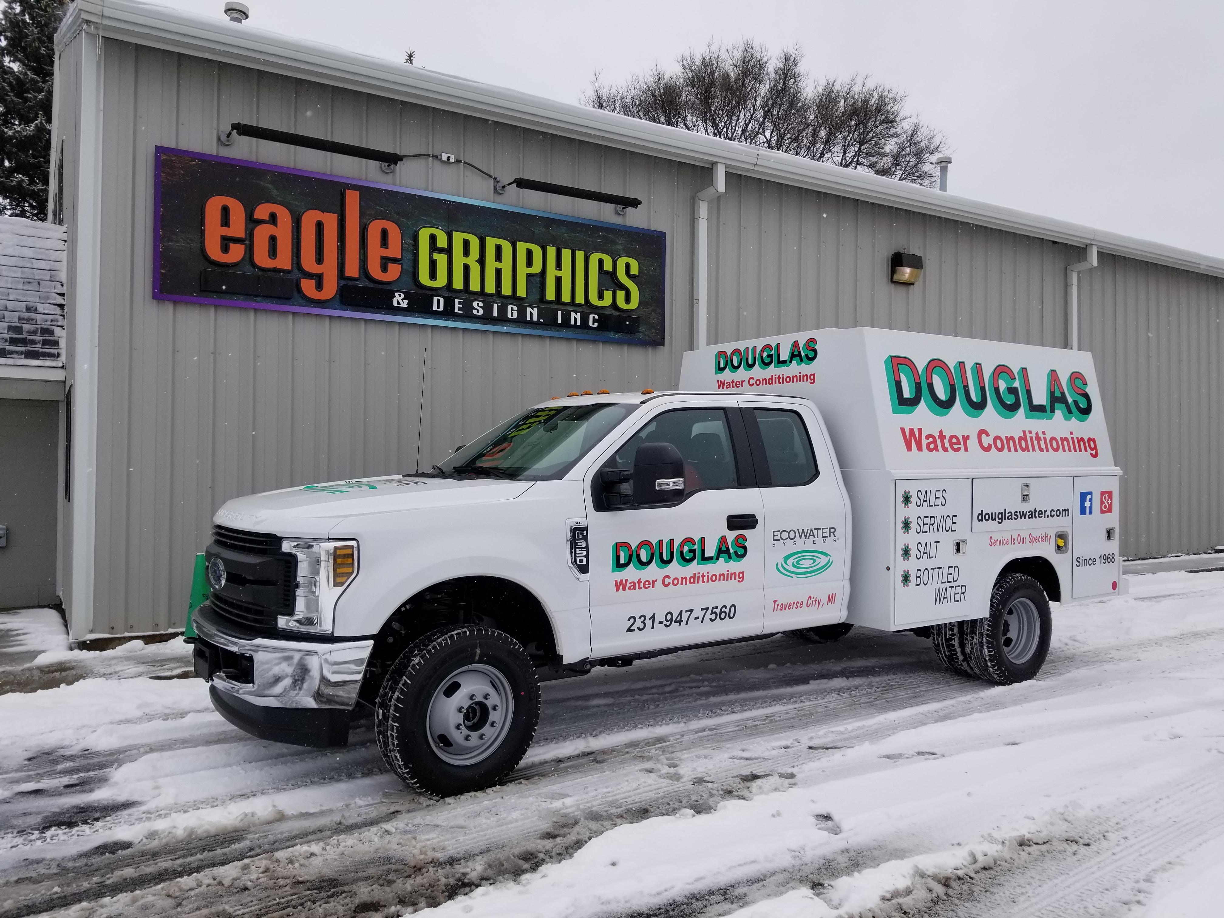 Douglas Spot wrap 3M Truck Wrap