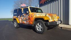 Skull Island Camp Jeep Wrap