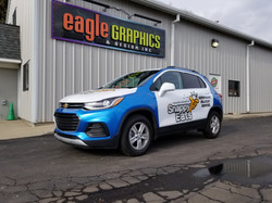 Chevy Trax Snappy Eats Wrap