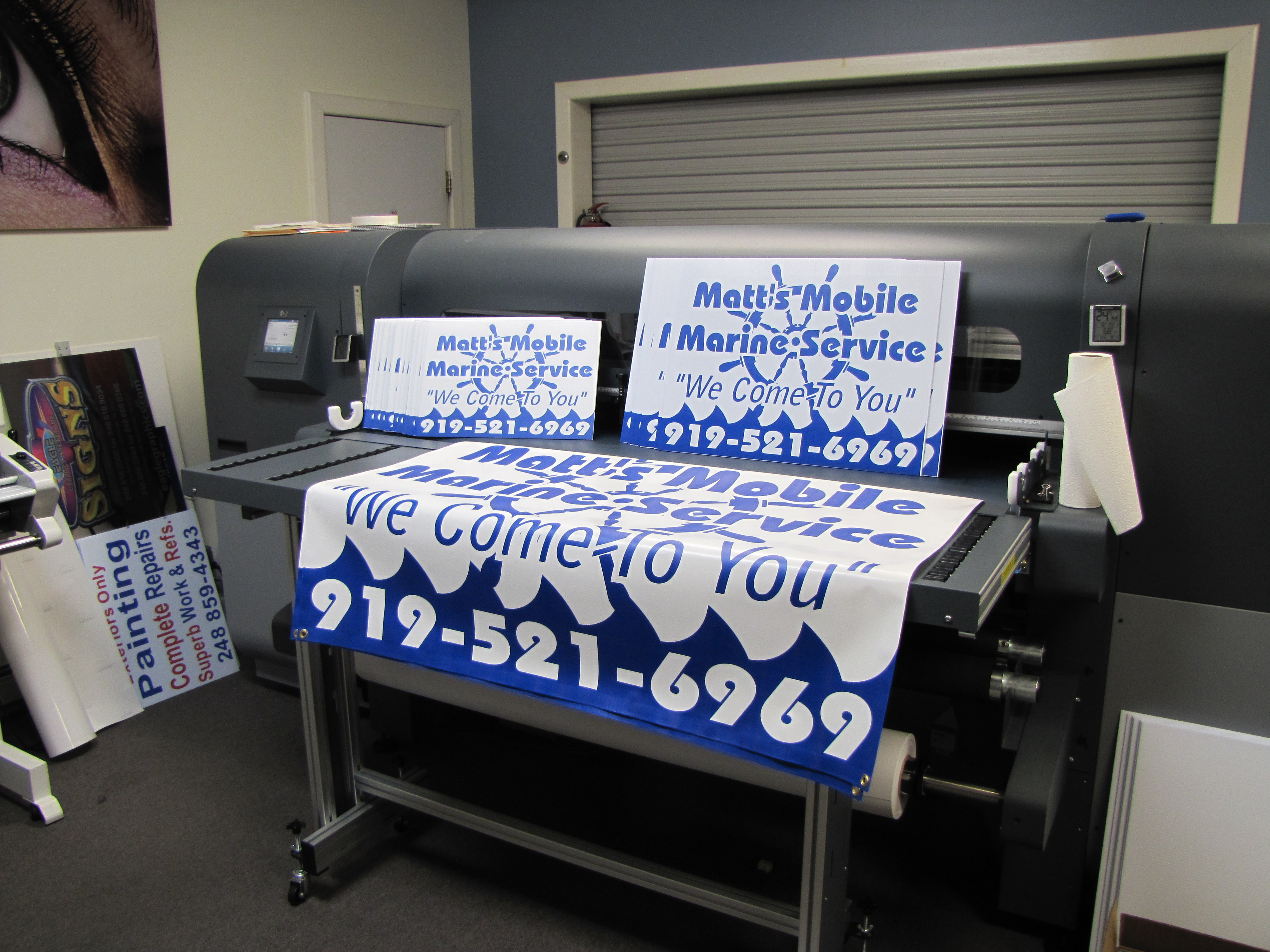 Printed Yard Signs and Banners