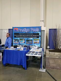 Trade Show Back Drop Prestige Pools