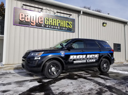 White Lake Police 3M Spot Wrap