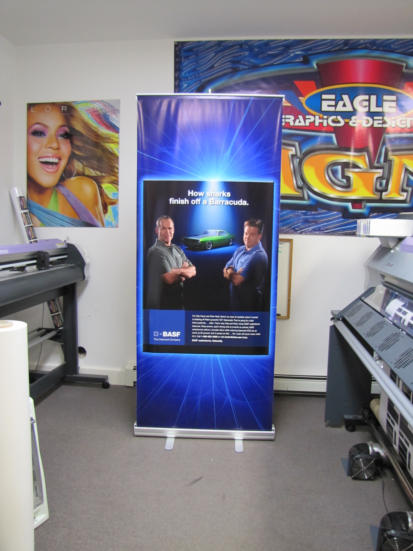 BASF Retractable Banner
