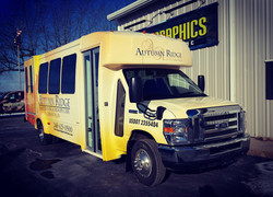 Autumn Ridge Bus Wrap