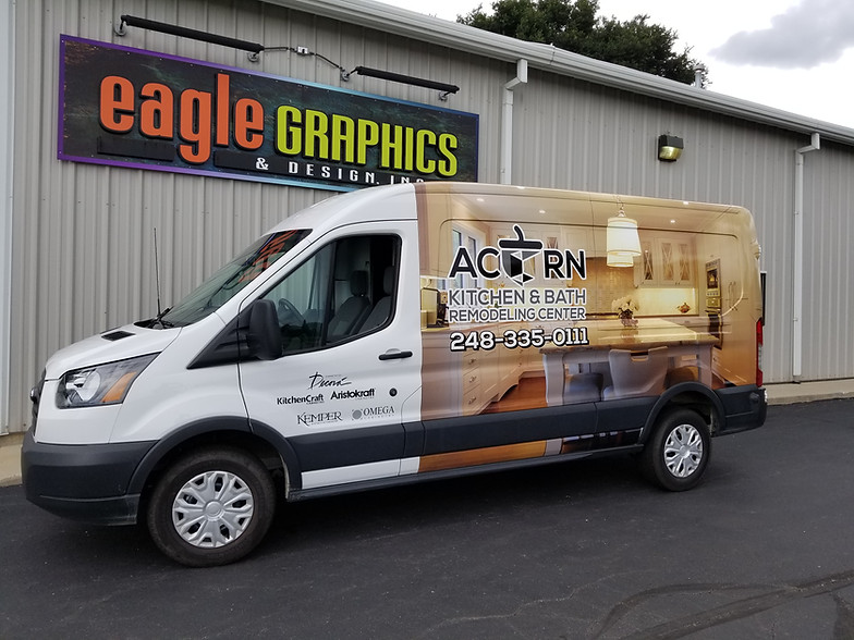 Vehicle Graphics | Waterford Township | Eagle Graphics ...