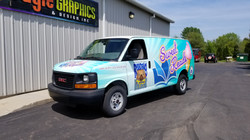 Sweet Reads Van Wrap 3M Sign Shop