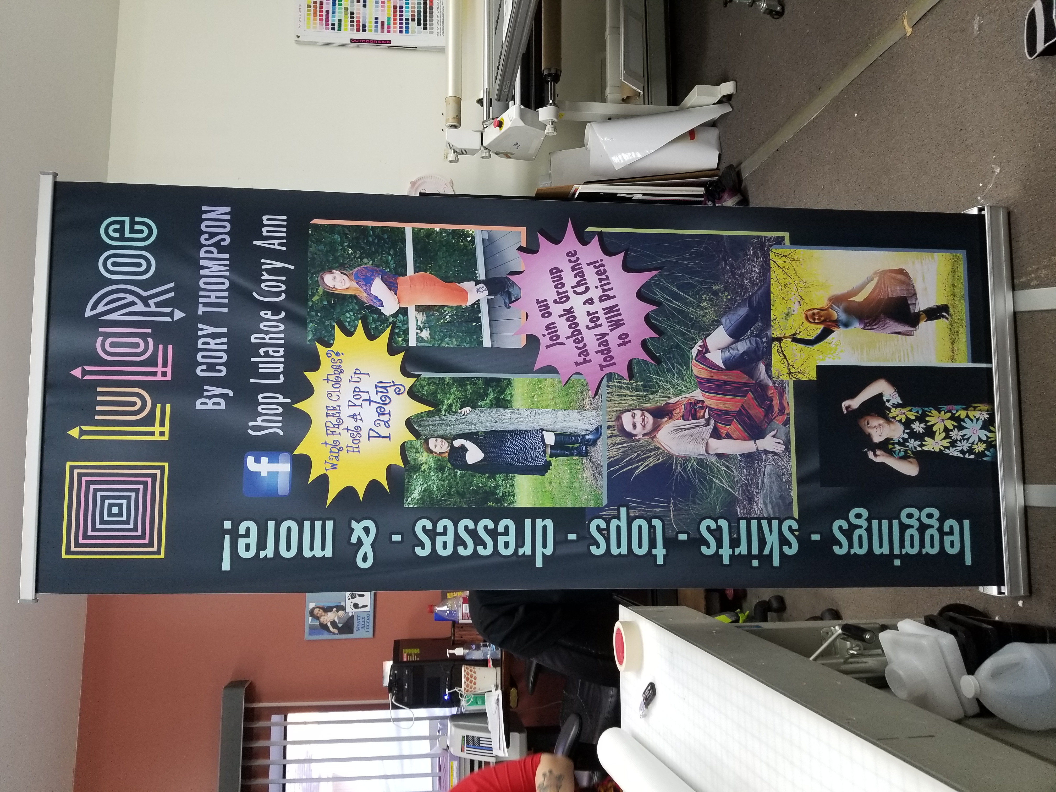 Tradeshow Display Sign shop banner