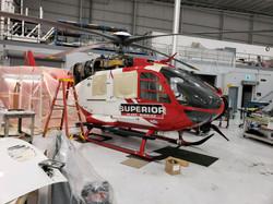 Helicopter Logo Superior Ambulance