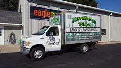 Northern Pines Box Truck Wrap