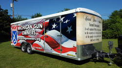 Trailer Wrap Michigan Gun Owners