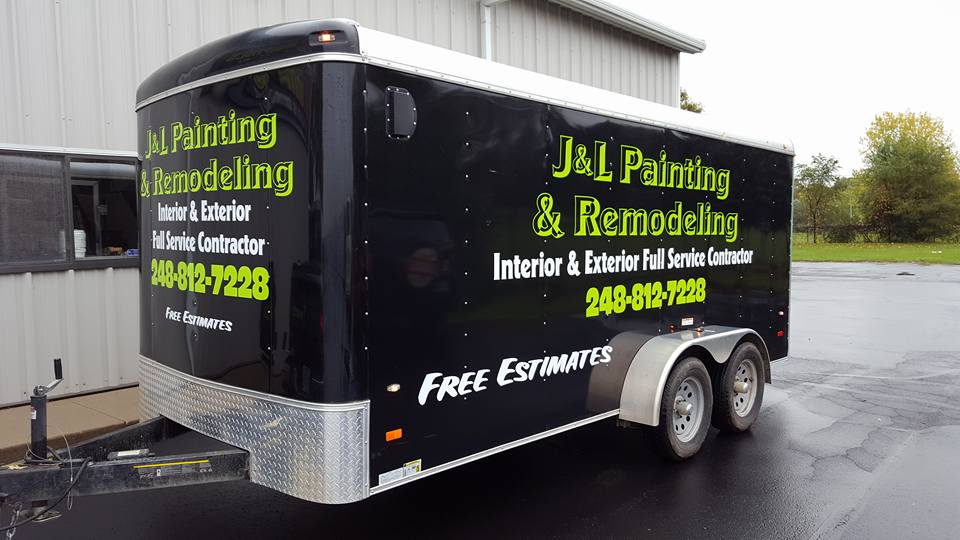 Trailer Spot Wrap J&L Painting