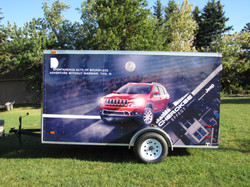 Trailer Wrap Jeep Cherokee