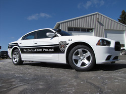 Keego Harbor Police Lettering