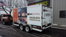 Trailer Wrap Rock Electrical