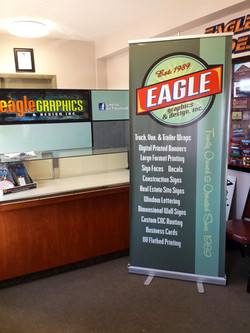 Eagle Graphics Retractable Banner